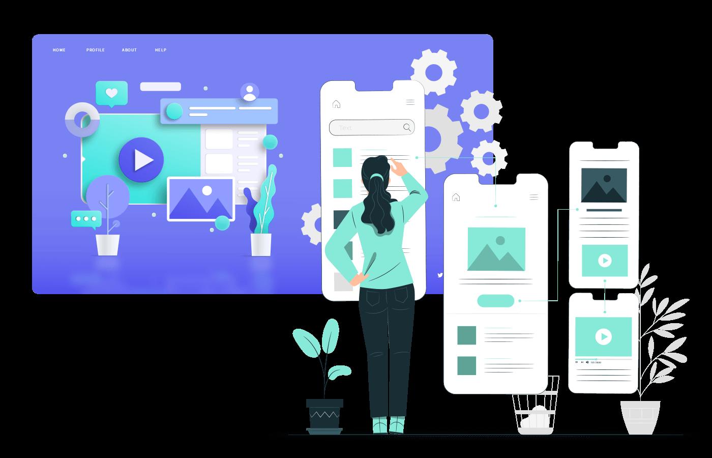 User interface oraz user experiance w stronach www oraz responsive web design, responsywne strony www agencja reklamowa
