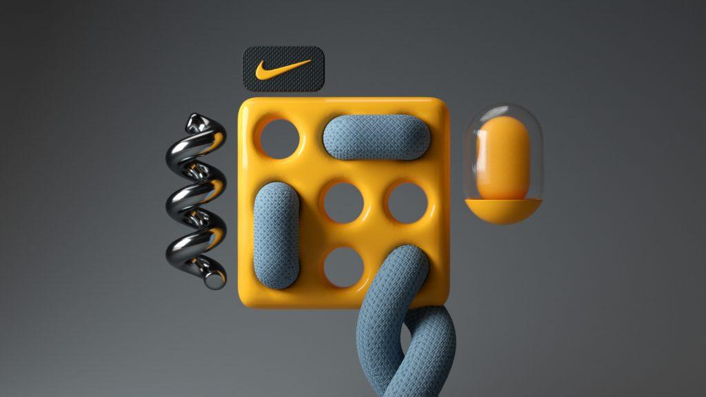 Kompozycja artystyczna Nike Just do it! Branding