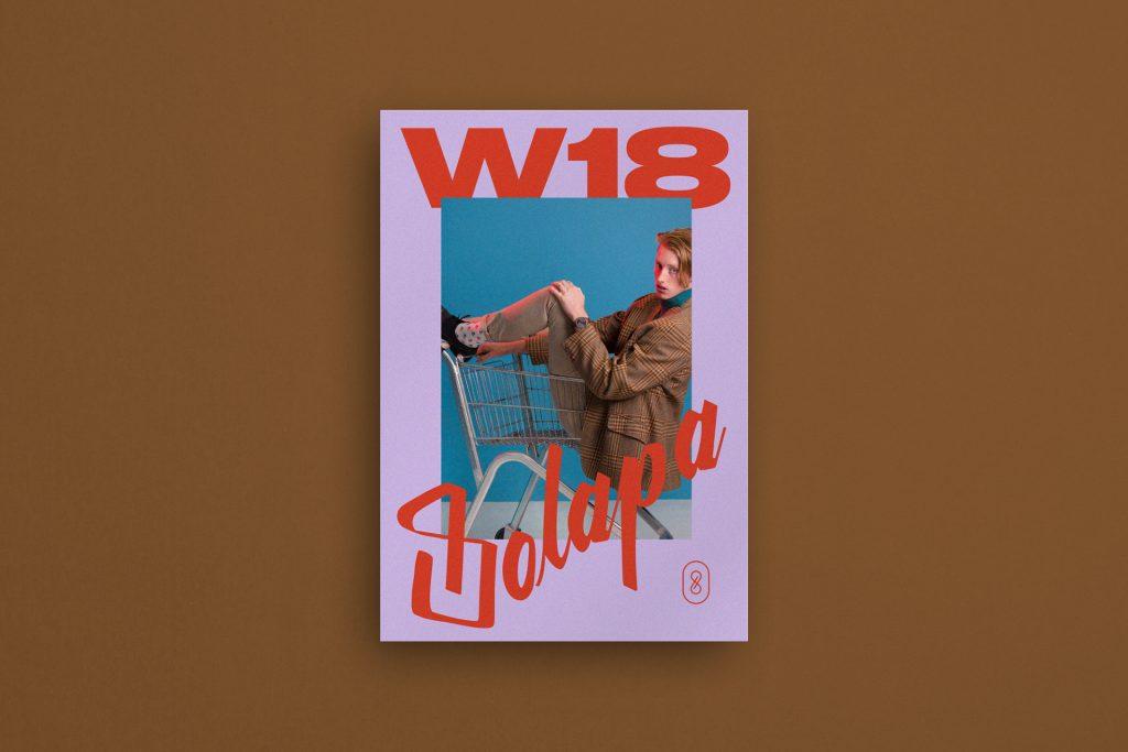 Projekt okładki do książki w stylu retro. Unikalna grafika reklamowa.