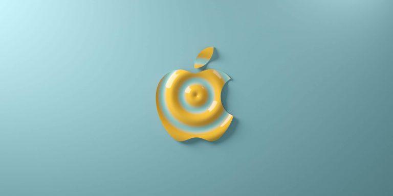 Branding kreatywne liquidowe logo Apple Kreatywna Agencja reklamowa Gryfny.Design