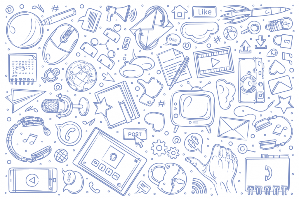 Strategia marketingowa. Różne kanały marketing wielokanałowy Agencja reklamowa Gryfny.Design